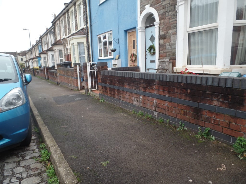 Typical street view in Easton BS5